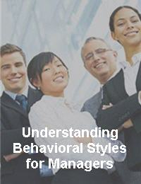 Understanding Behavioral Styles for Managers - elearning