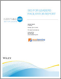 363 for Leaders Facilitator Report - NexaLearning