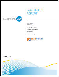 Everything DiSC Facilitator Report - NexaLearning