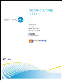 Everything DiSC Group Culture Report - NexaLearning