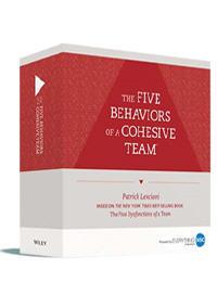 Five Behaviors of a Cohesive Team - Facilitators Kit