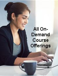 All on-demand course offerings