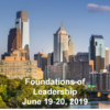 Foundations of Leadership - June 19-20 2019